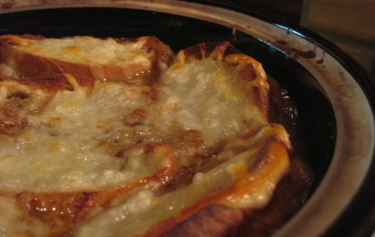 Onion Soup Gratine