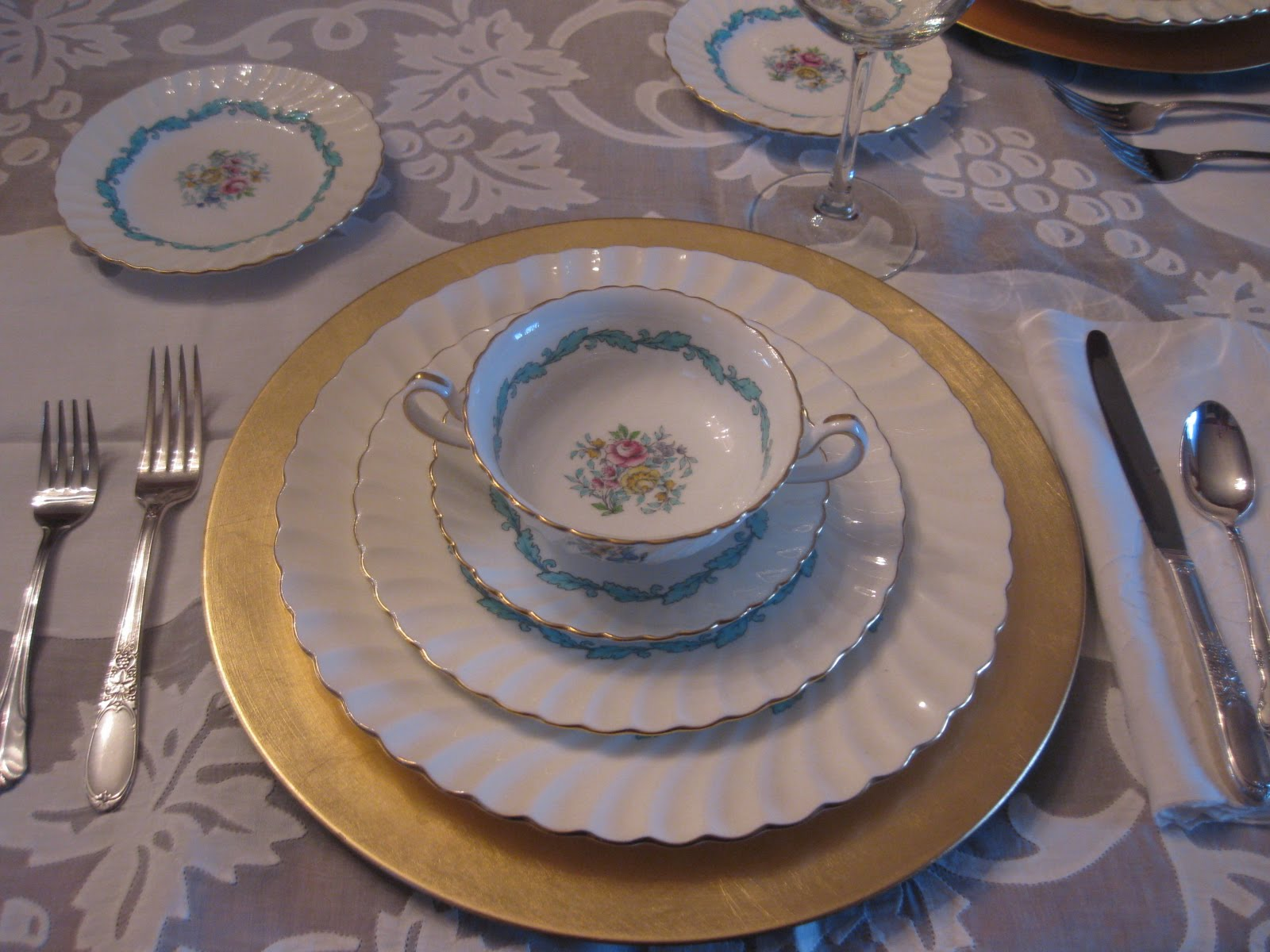 Birthday China for an Old Gardener