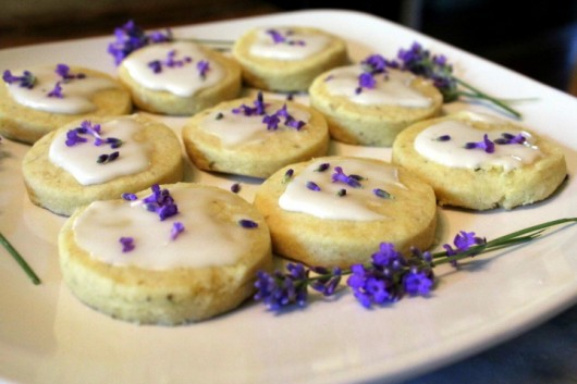 ... is the cookie queen after shortbread cookies are lavender shortbread