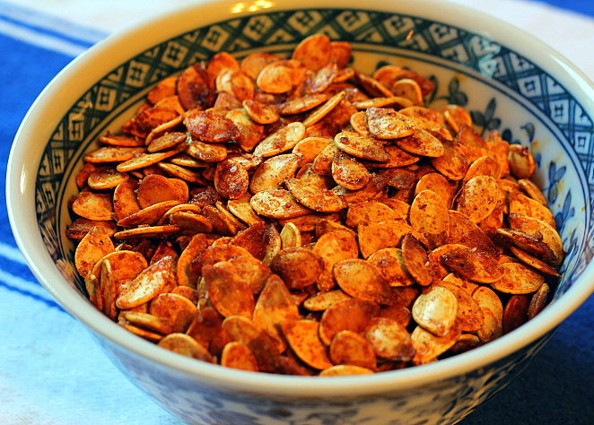 Crisp, Smokey Pumpkin Seeds