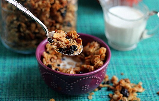 Organic Cinnamon-Maple Granola