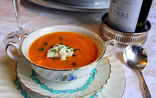 Kevin's Carrot-Ginger-Orange Soup