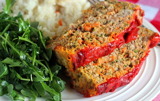 Turkey-Carrot-Bacon Loaf (GF)
