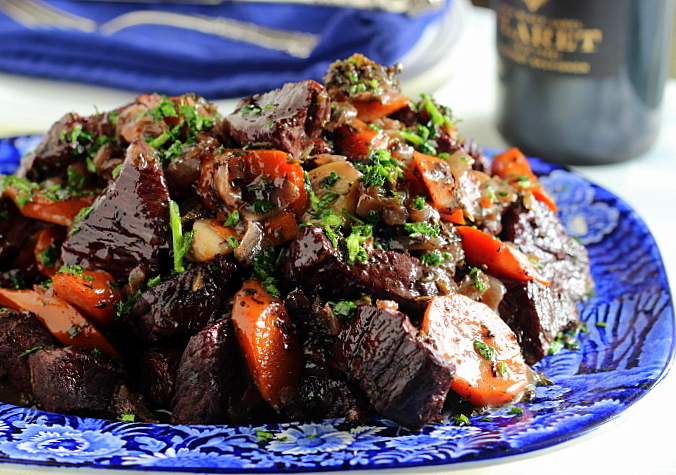 Thyme and Wine Beef Stew (GF)