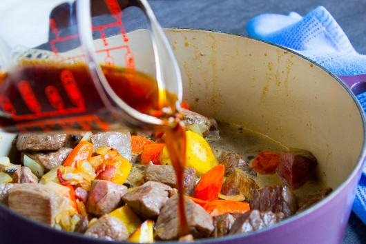 beef, beer and chocolate stew -add coffee -JPG