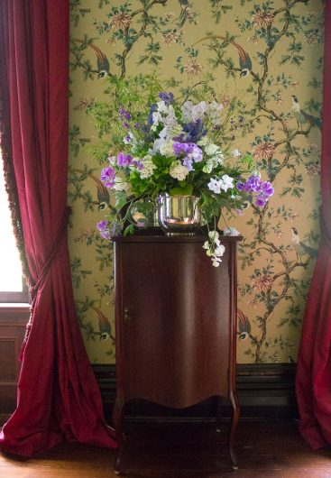 Victorian Flower Arrangements And A Magazine Photo Shoot