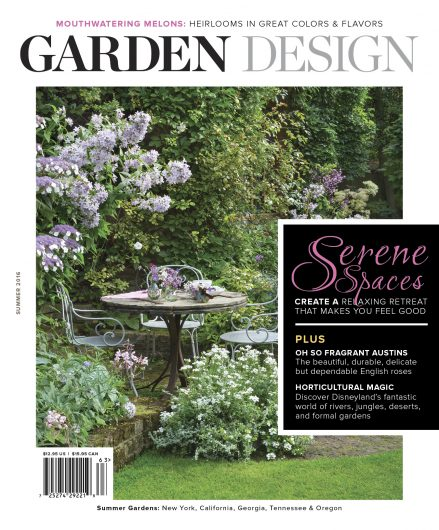 garden design magazine winners announced