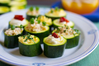 Easy Zucchini Appetizers