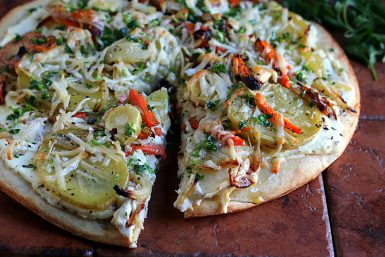 Roasted Root Vegetable Pizza: The Video!