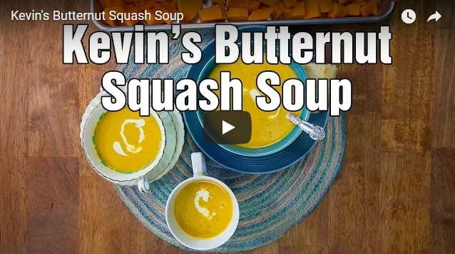 Video: Caramelized Butternut Squash Soup