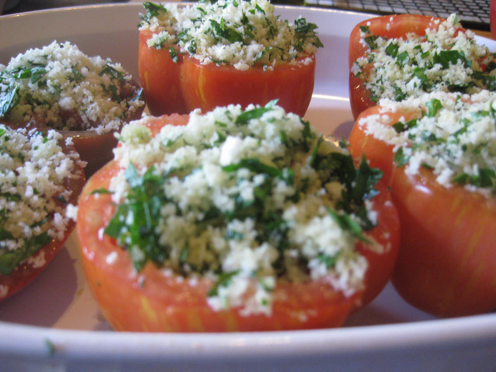 Classic Stuffed Tomatoes Provencal