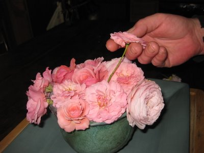 Flower Arranging 101: Roses in a Bowl
