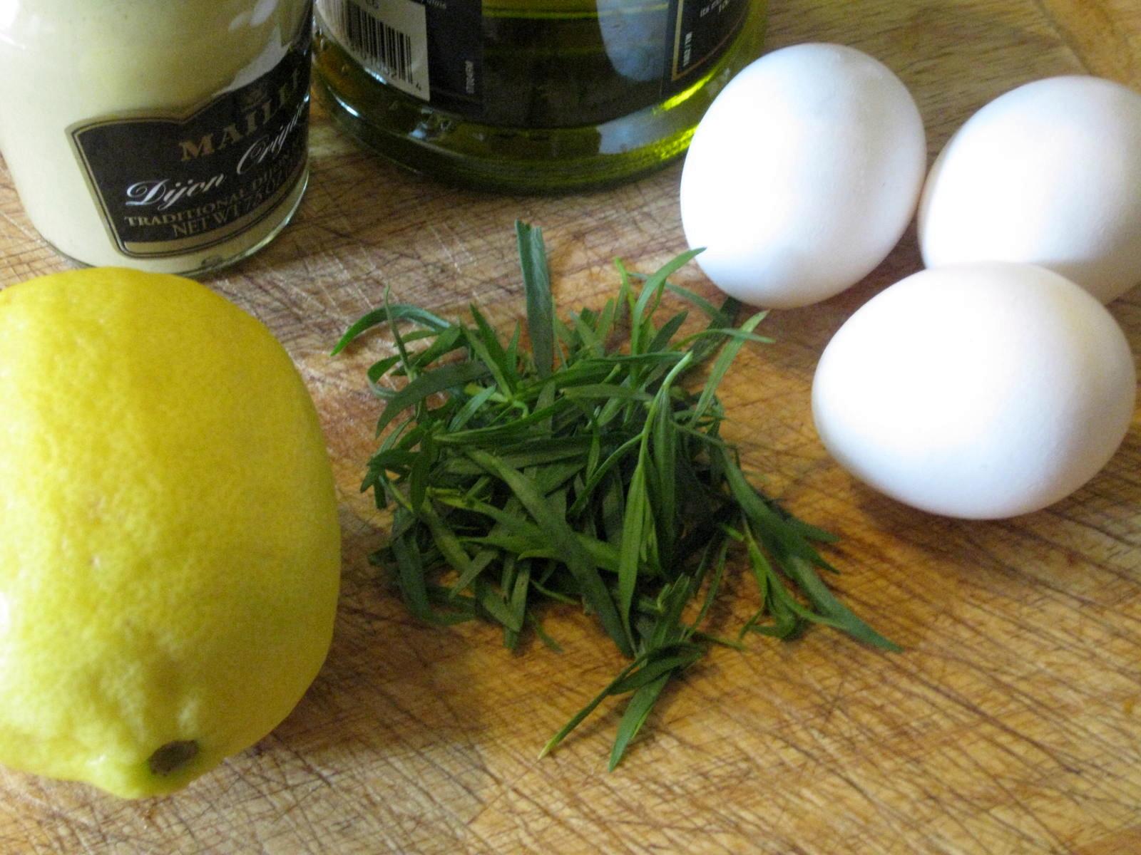 Tarragon Mayonnaise from Scratch