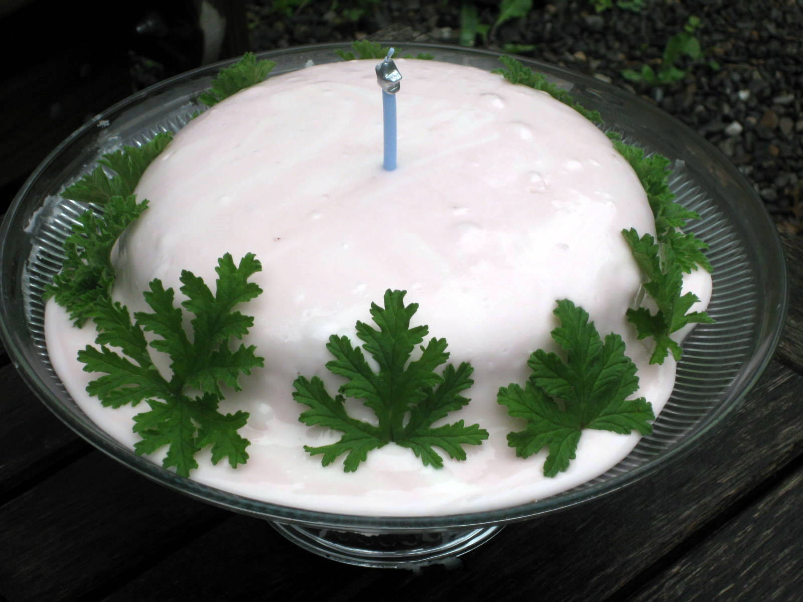 Recipe: Rose-Geranium Icing