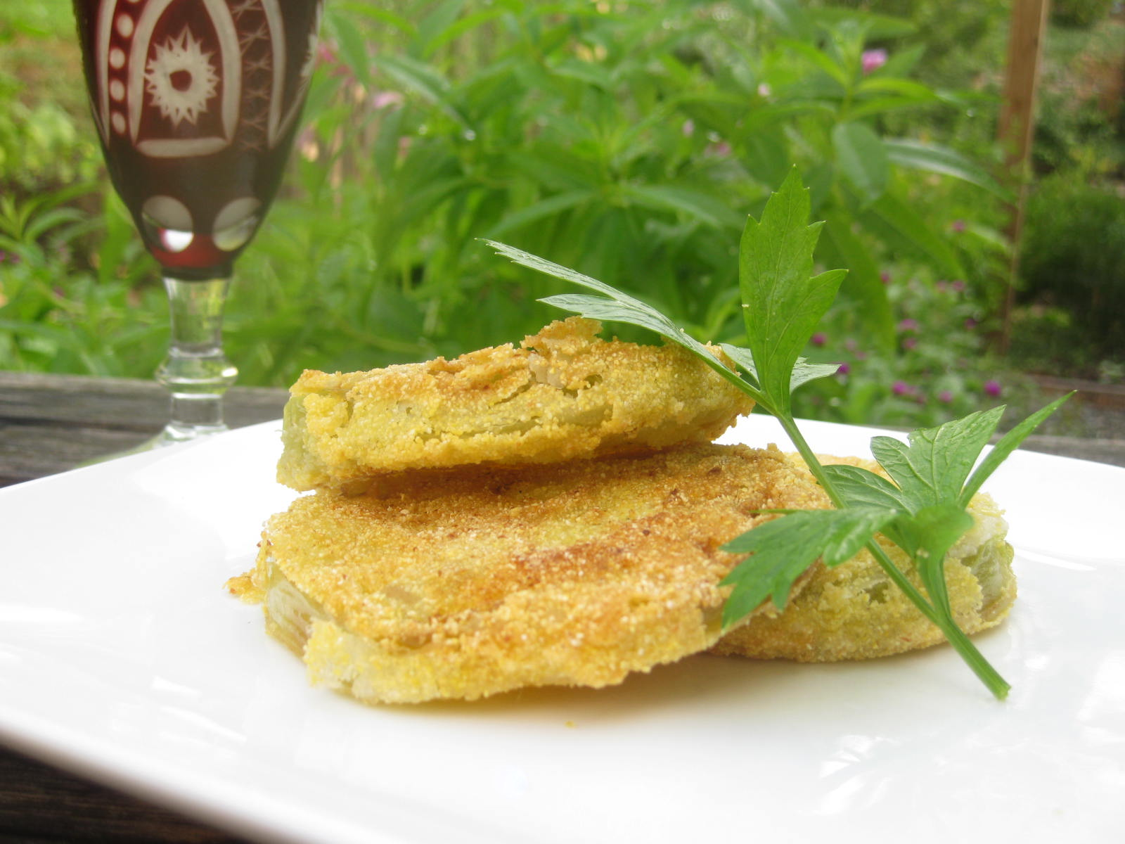 My Best Fried Green Tomatoes
