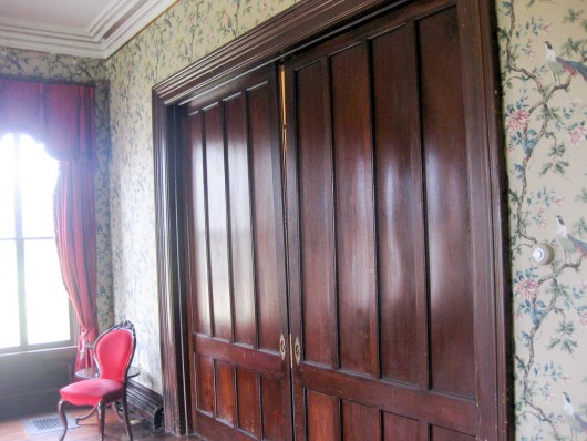 music room librarypocket doors JPG