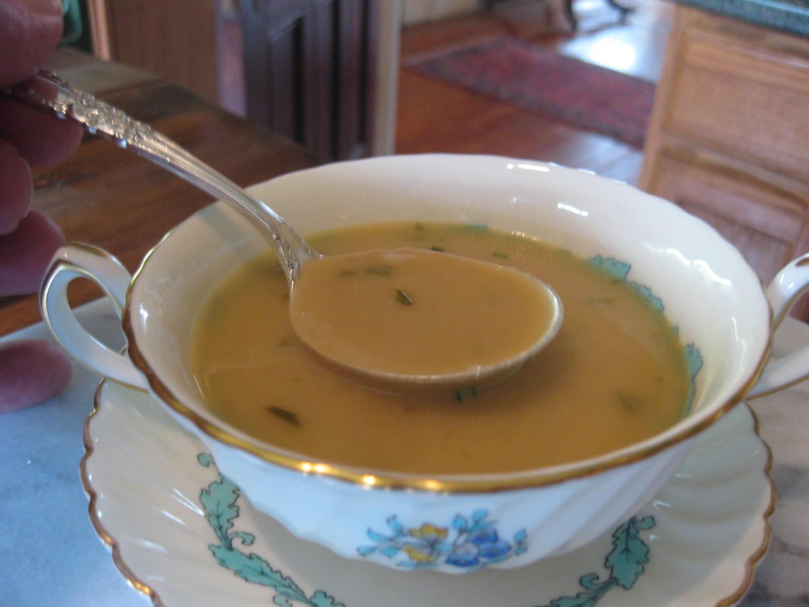 Navy Bean & Rosemary Soup