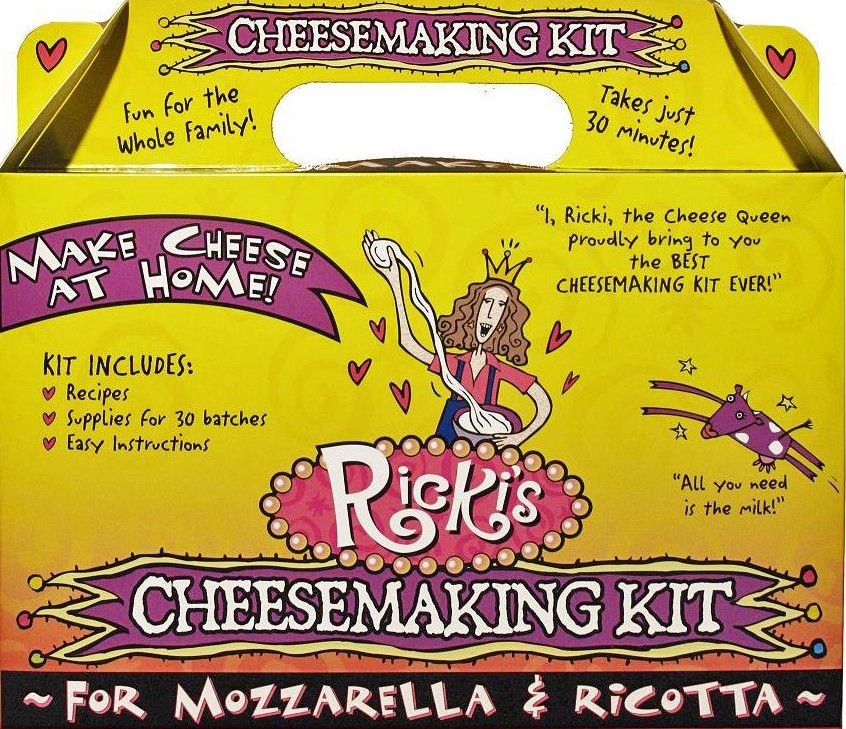 The May Giveaway: Ricki Carroll's Cheesemaking Kit