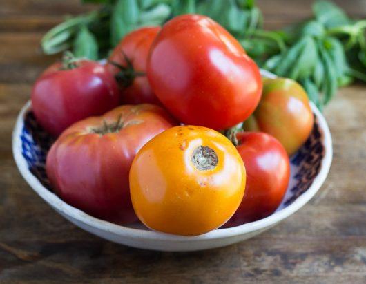 tomato pie bowl of tomatoes 9-02-16