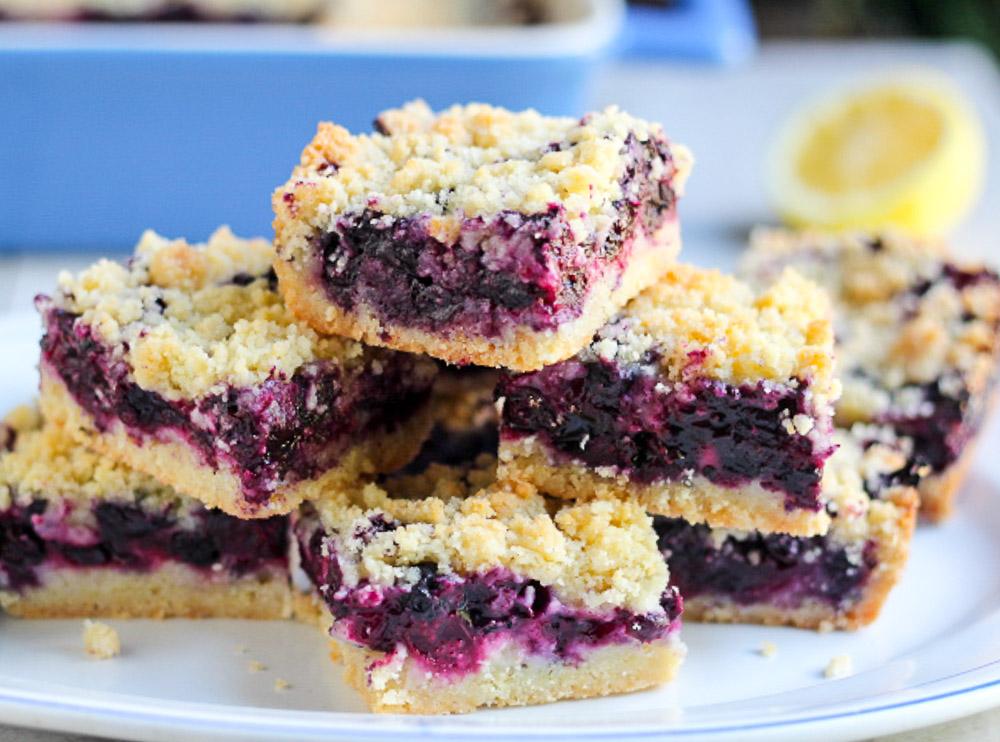 Blueberry Bars — Again!