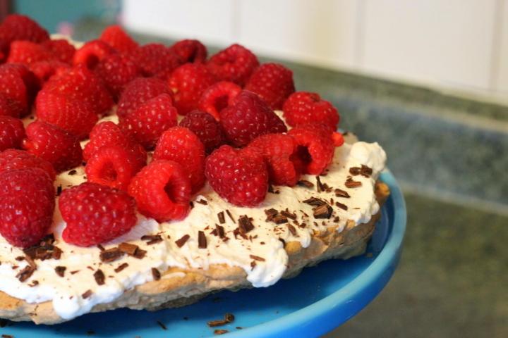 Recipe: Raspberry Pavlova (GF)