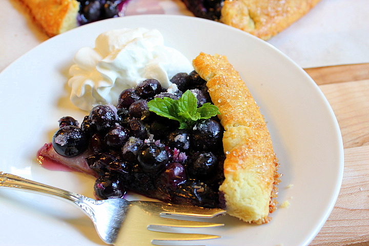 French Blueberry Galette Ep. 63
