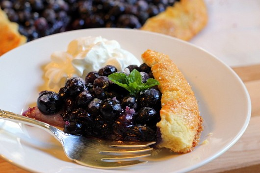 Kevin Lee Jacobs: French Blueberry Galette