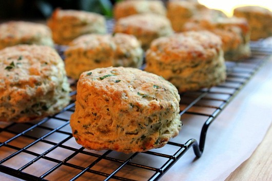 Herbed Cottage Cheese Biscuits - Thanksgiving Side Dishes