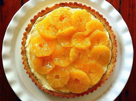 Glazed Orange Tart