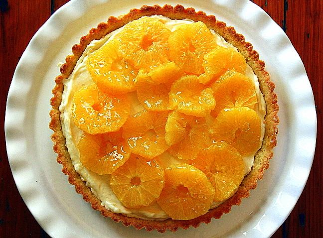 Glazed Orange Tart
