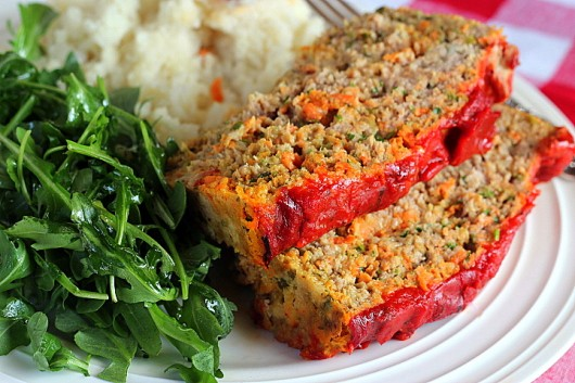 Turkey-Carrot-Bacon Loaf