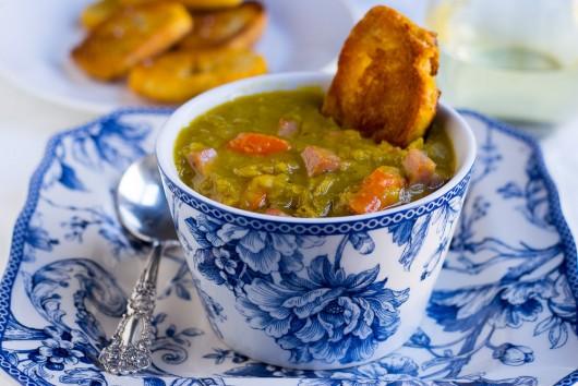 pea and pinot grigio soup -JPG