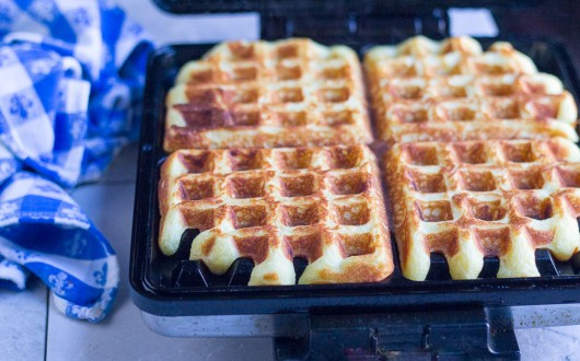 orange waffles bake 10 JPG