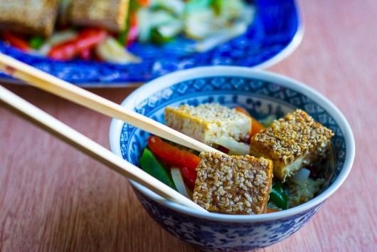 tofu and veggies - 2 JPG