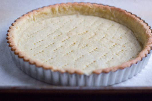and blind bake it in a tart pan with removable bottom 6-16-16 jpg