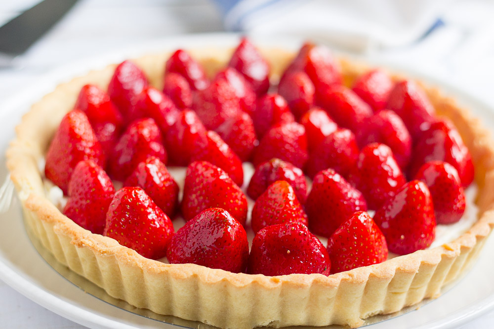 My Favorite Strawberry Tart