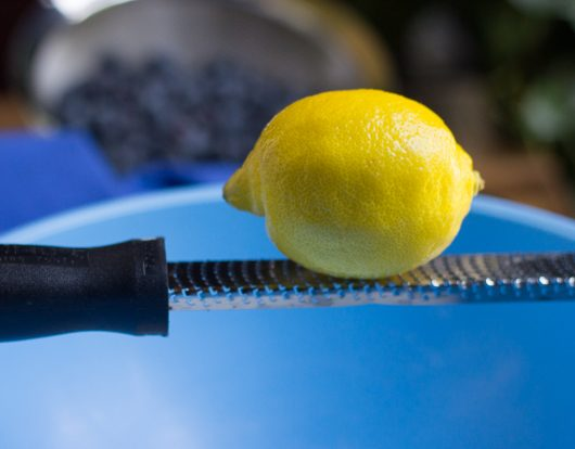 blueberry peach cobbler add zest of lemon 7-29-16
