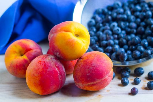 blueberry peach cobbler fruit 7-29-16