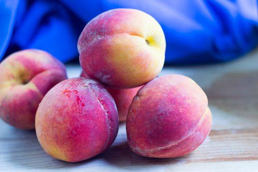 blueberry peach cobbler peaches 7-29-16
