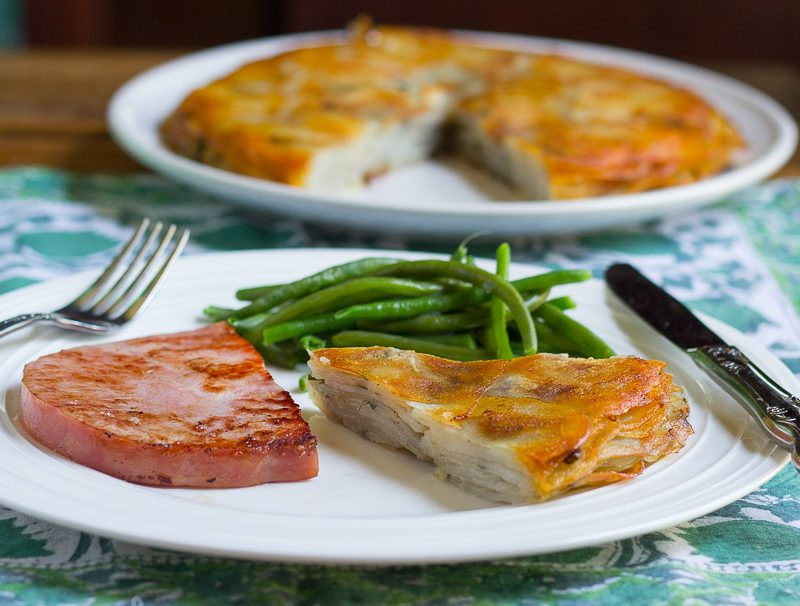 Pommes Anna with Chives (GF)
