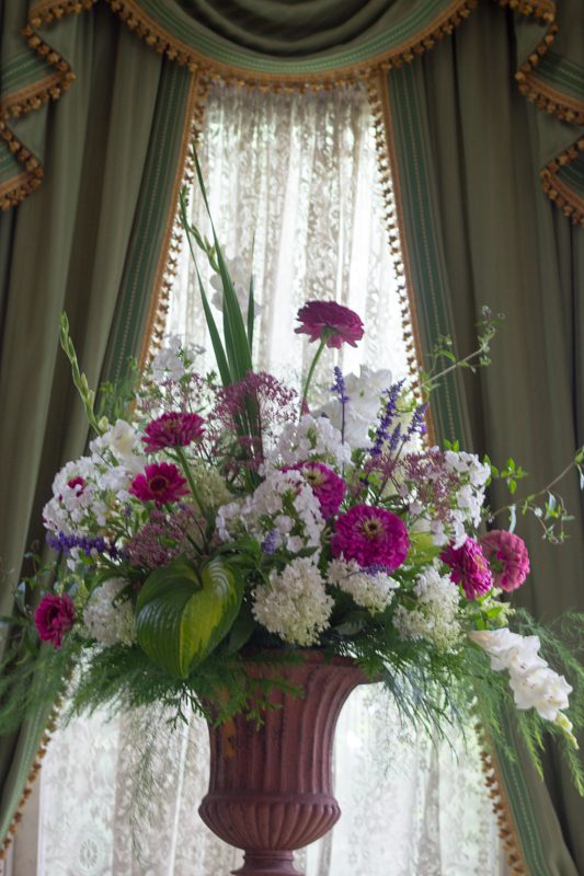August Flowers for the Entrance Hall