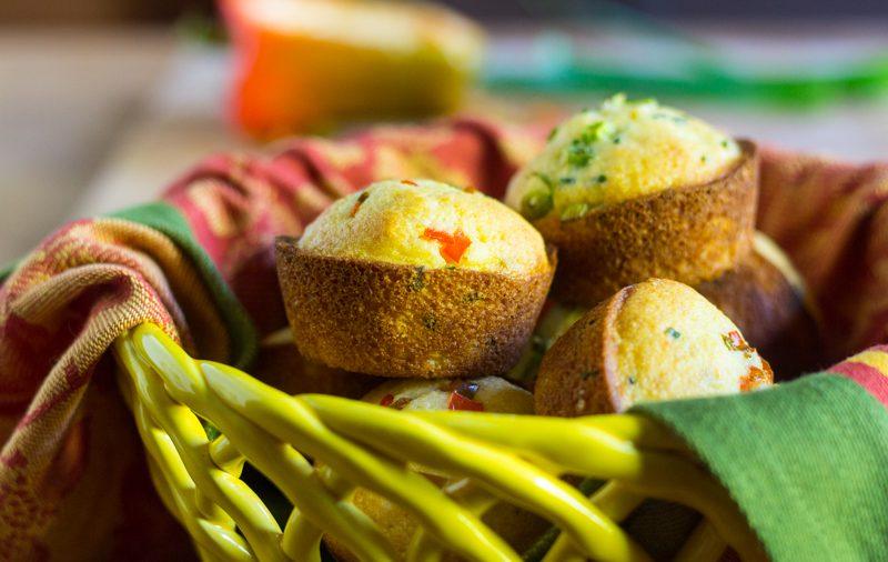 Autumn Corn Muffins