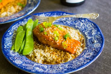 Salmon Dinner in 15 Minutes