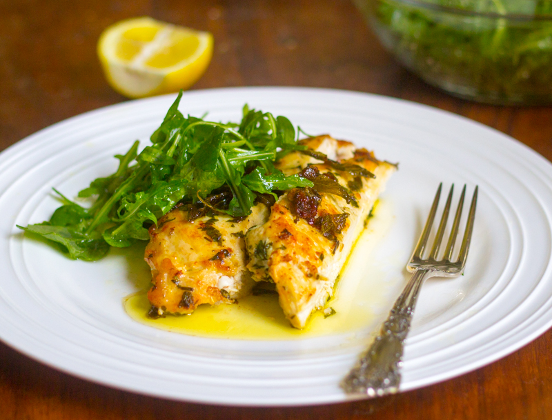 Chicken in Herbs and Brown Butter