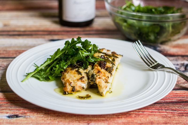 Fast Food: Chicken in Parsley and Sage Brown Butter