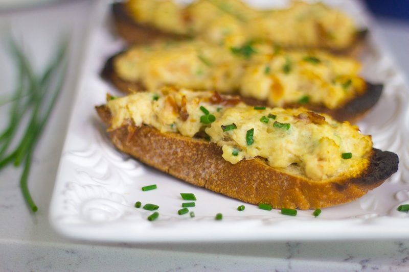 Smoked Trout Tartines (Open Face Sandwiches)