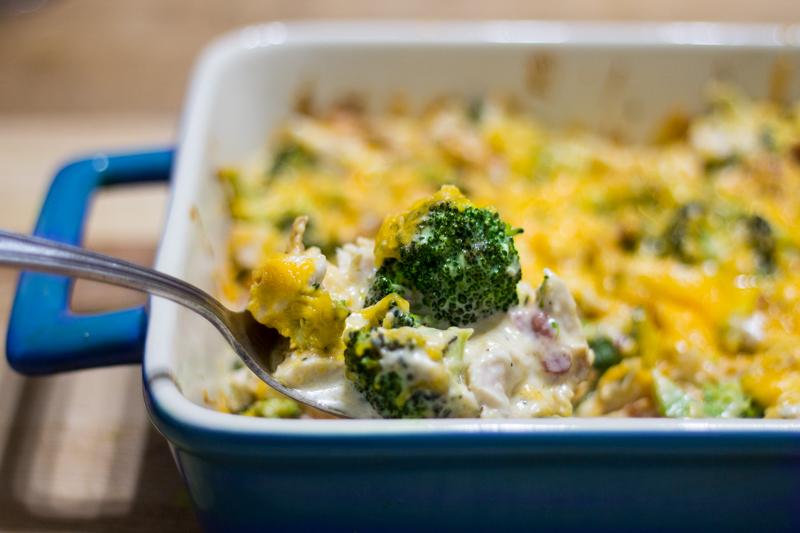 Turkey-Broccoli Casserole (Keto!)