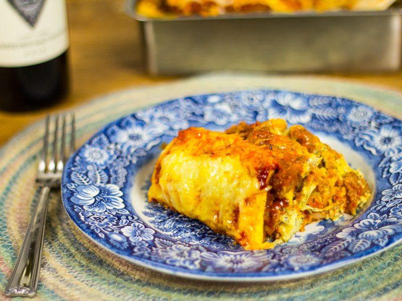Low-Carb Lasagna Loaf