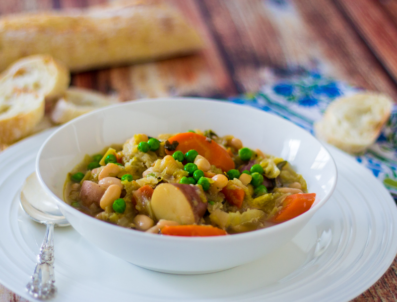 Garbure (French Meat and Veggie Soup)