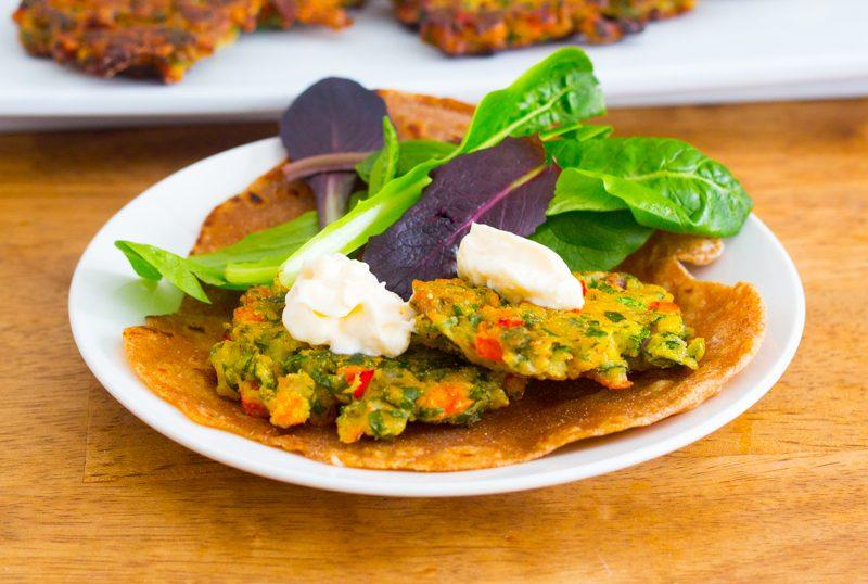 Chick Pea Fritters (Vegan; Gluten-free)